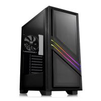 Gabinete Gamer Thermaltake Versa T35 TG RGB Preto Vidro Temperado - CA-1R7-00M1WN-00