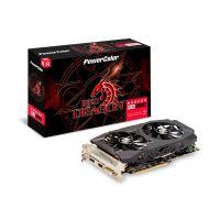 Placa de Vídeo PowerColor Radeon 8GB RX 580 Red Dragon AXRX 580 8GBD5-DHDV2/OC