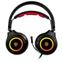 Headset Gamer Thermaltake Cronos Riing RGB 7.1 Preto - HT-CRA-DIECBK-20