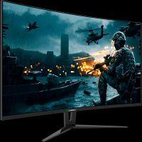 "Monitor Curvo Gamer Gamemax 27"" Full HD HDMI DVI 144hz 1ms - GMX27C144"