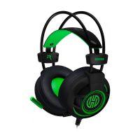 Headset Gamer Hoopson Bruiser, LED, USB, Verde - DG28G