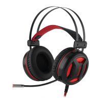 Headset Gamer Redragon Minos Surround 7.1 USB Preto - H210