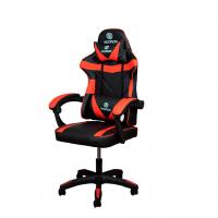 Cadeira Gamer Hoopson Reclinável e Giratoria Preta/Vermelha - HP-CG-505