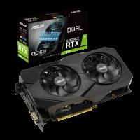 Placa de Vídeo Asus GeForce RTX 2060 OC EVO Dual 6GB, GDDR6 192bit - DUAL-RTX2060-O6G-EVO
