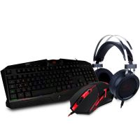 Kit Gamer Redragon S112 -Teclado + Mouse + Headset + Mousepad - S112