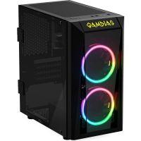 Gabinete Gamer Gamdias Talos E1 RGB Mid Tower com FAN - TALOS E1