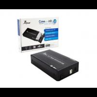 Case p/ HD 3.5 USB 2,0  SATA  Preto