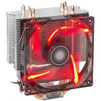 Cooler para processador  Dex DX 9000 - Vermelho AMD/Intel
