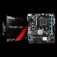 Mother Asrock 760GM-HD - AMD AM3/AM3+ / DDR3 / DVI-D / HDMI / D-SUB