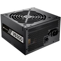 Fonte 500W Corsair 80 Plus White VS500 sem Cabo CP-9020118-LA