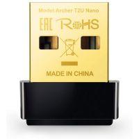 Adaptador USB Wireless TP-Link AC600 Dual Band  Archer T2U Nano