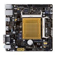 Mother Asus J1800I-C/BR CSM  HDMI DDR3 c/ proc Intel J1800