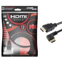 Cabo HDMI 2MT Pix Ultra HD 3D 2.0. 4K 19 Pinos  018-2222