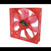Cooler Fan 120mm Com Led Vermelho Dex - Dx-12L