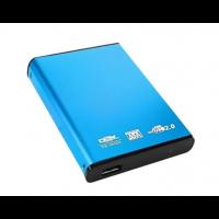 Case Dex p/ HD 2.5´ Notebook USB 2.0 SATA Azul  - DX-2520