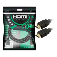 Cabo HDMI 3.0MT Pix Gold 2.0 4K Ultra HD e HDR 19 Pinos 018-2223