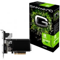 Placa de Vídeo Gainward GeForce 2GB GT710 DDR3 64Bits - NEAT7100HD46-2080H
