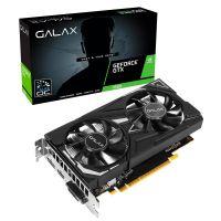 Placa de Vídeo GALAX GeForce 4GB GTX 1650 EX, GDDR6, 128Bit - 65SQL8DS66E6