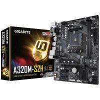 Mother Gigabyte GA-A320M-S2H, 2xDDR4 , HDMI, DVI, M.2, PCIe, USB3 AM4