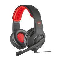 Headset Gamer Trust GXT 310 Radius Preto/Vermelho - 21187