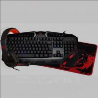Kit Gamer Redragon RGB + Mouse + Mousepad + Headset S101-BA