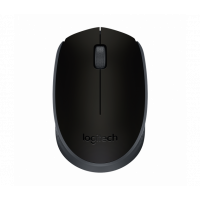 Mouse Sem Fio Logitech M170  Preto e Cinza - 910-004940