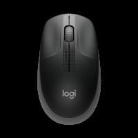 Mouse Sem Fio Logitech M190, Preto e Cinza - 910-005902