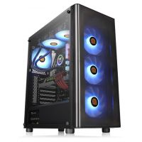 Gabinete Gamer Thermaltake V200 TG Tempered Glass - CA-1K8-00M1WN-00