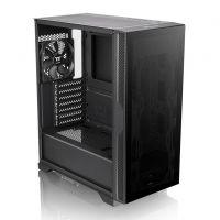 Gabinete Gamer Thermaltake Versa T25 Preto Vidro Temperado - CA-1R5-00M1WN-00