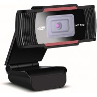 Webcam C3Tech Hd 720p WB-70BK Com Microfone